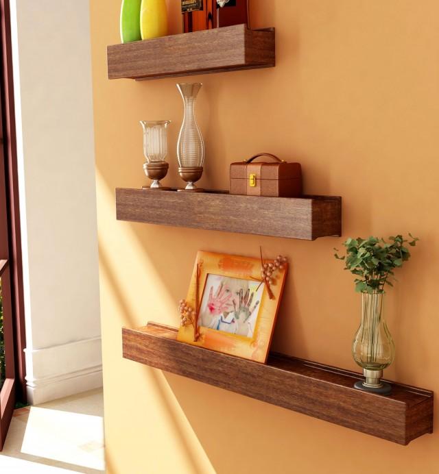 Shelves On Walls Decoration