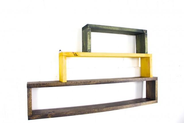 Shoe Box Wall Shelves