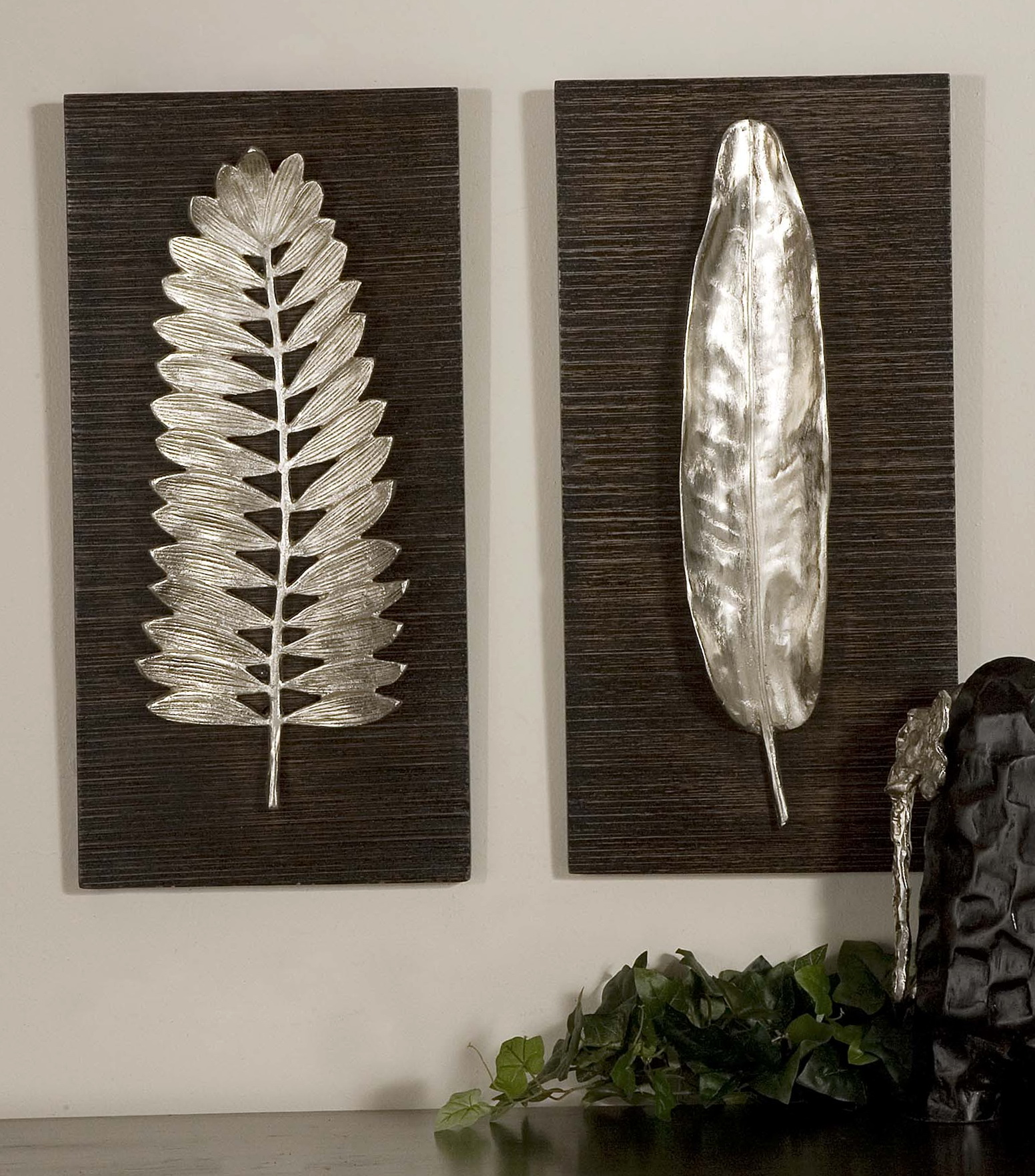 Silver Wall Art Decor