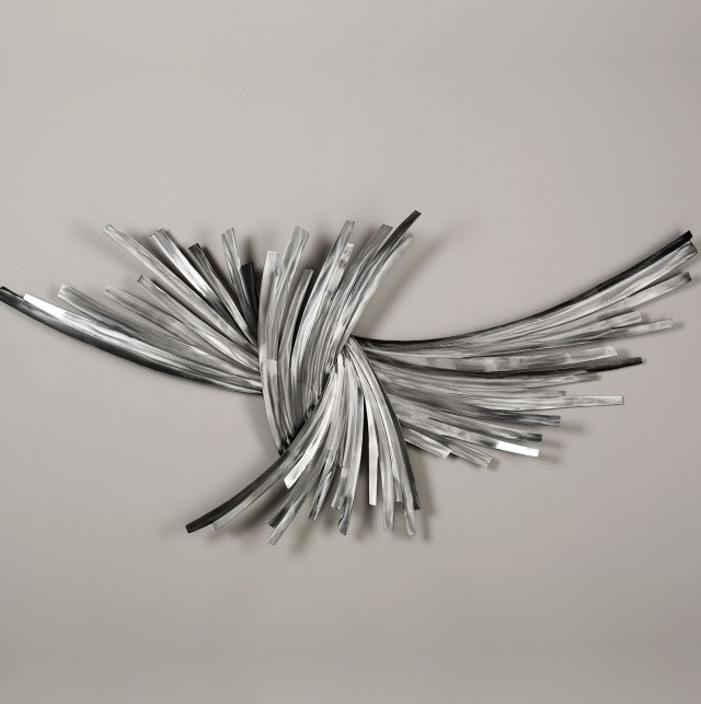 Silver Wall Art Metal