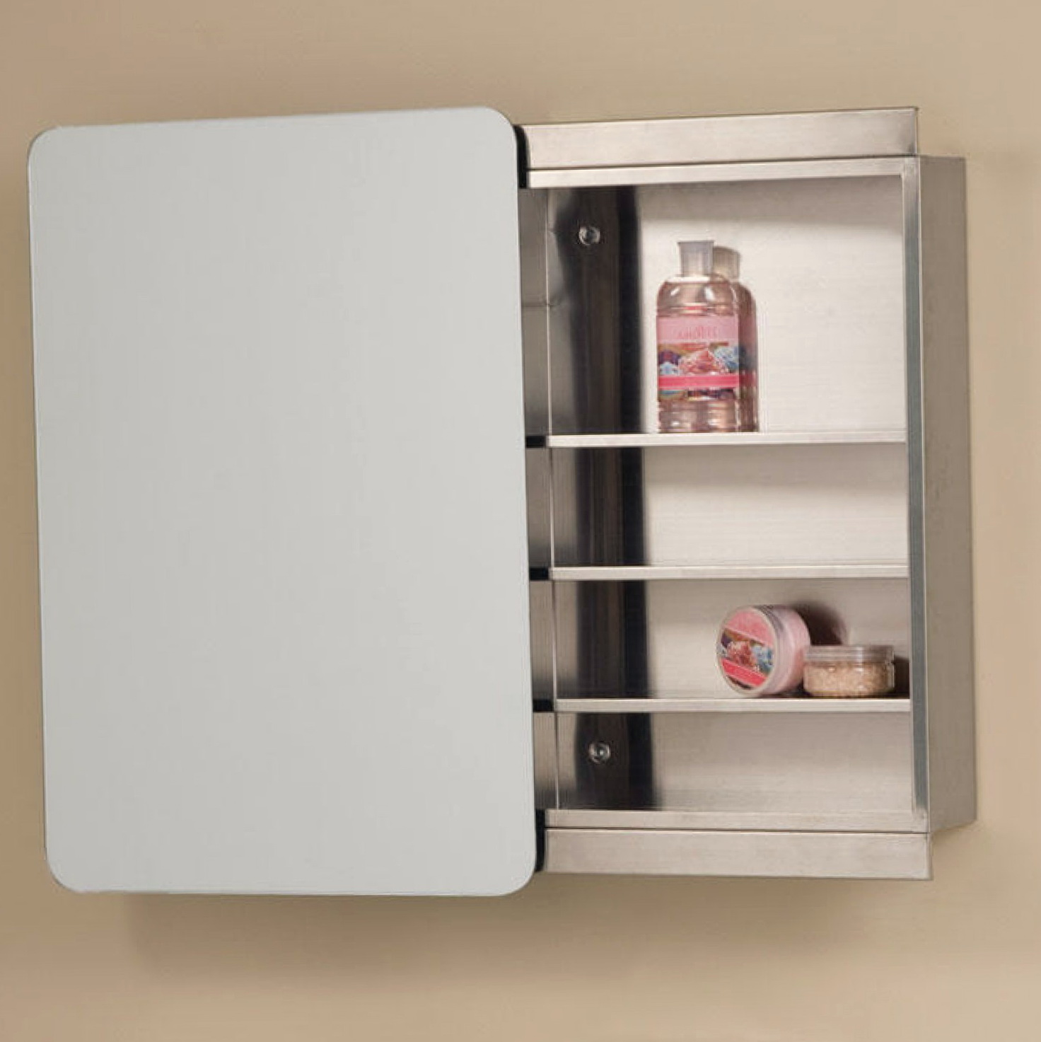 Sliding Mirror Medicine Cabinet