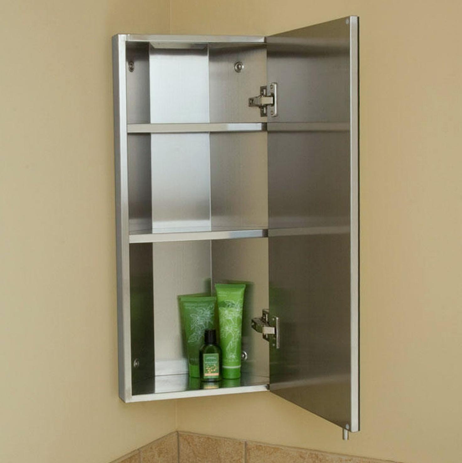 Small Corner Medicine Cabinet