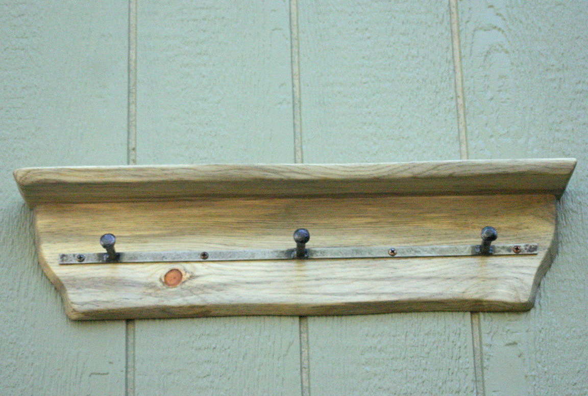 Small Rustic Wall Shelves