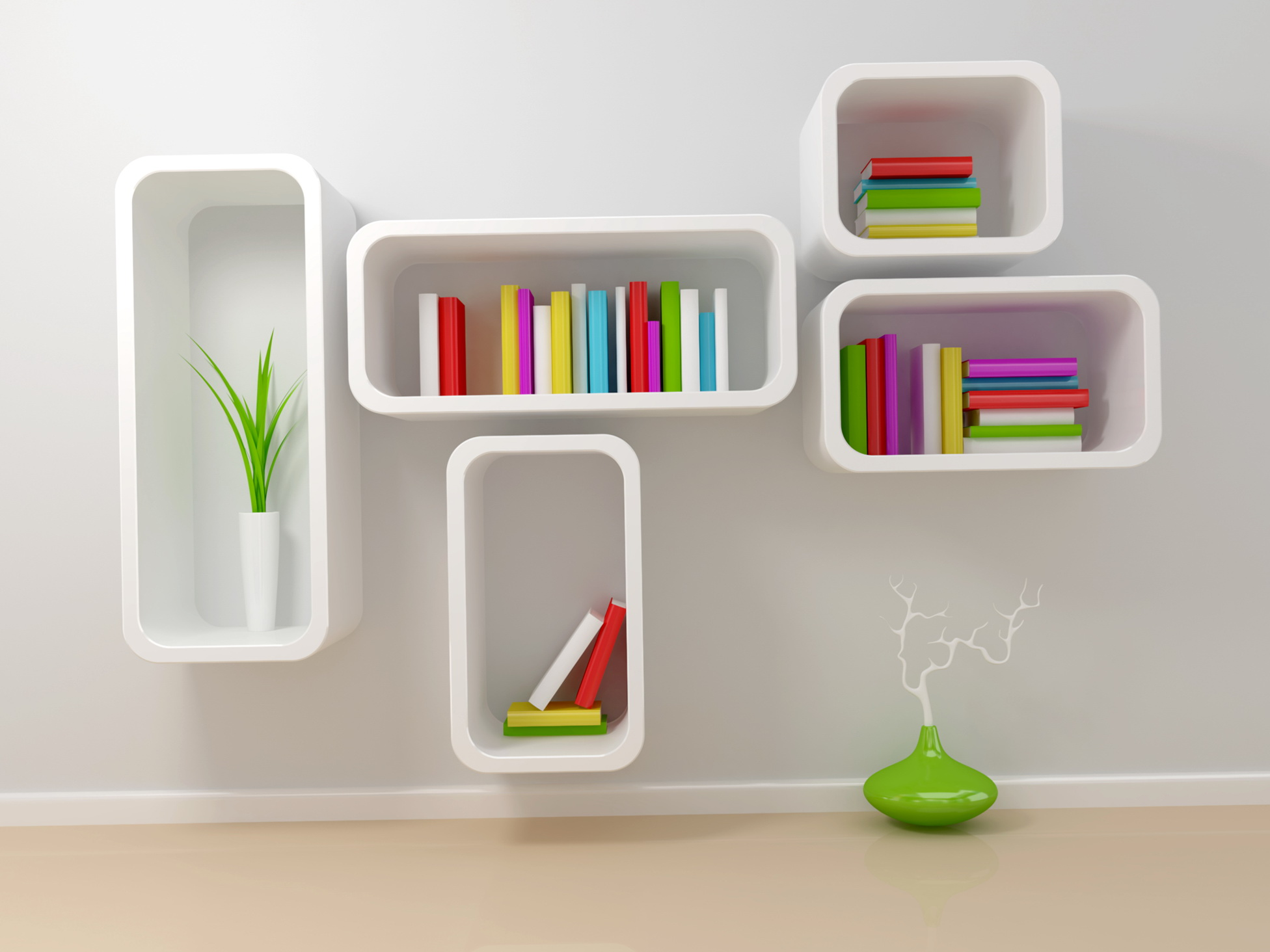Small White Bookcase Kids