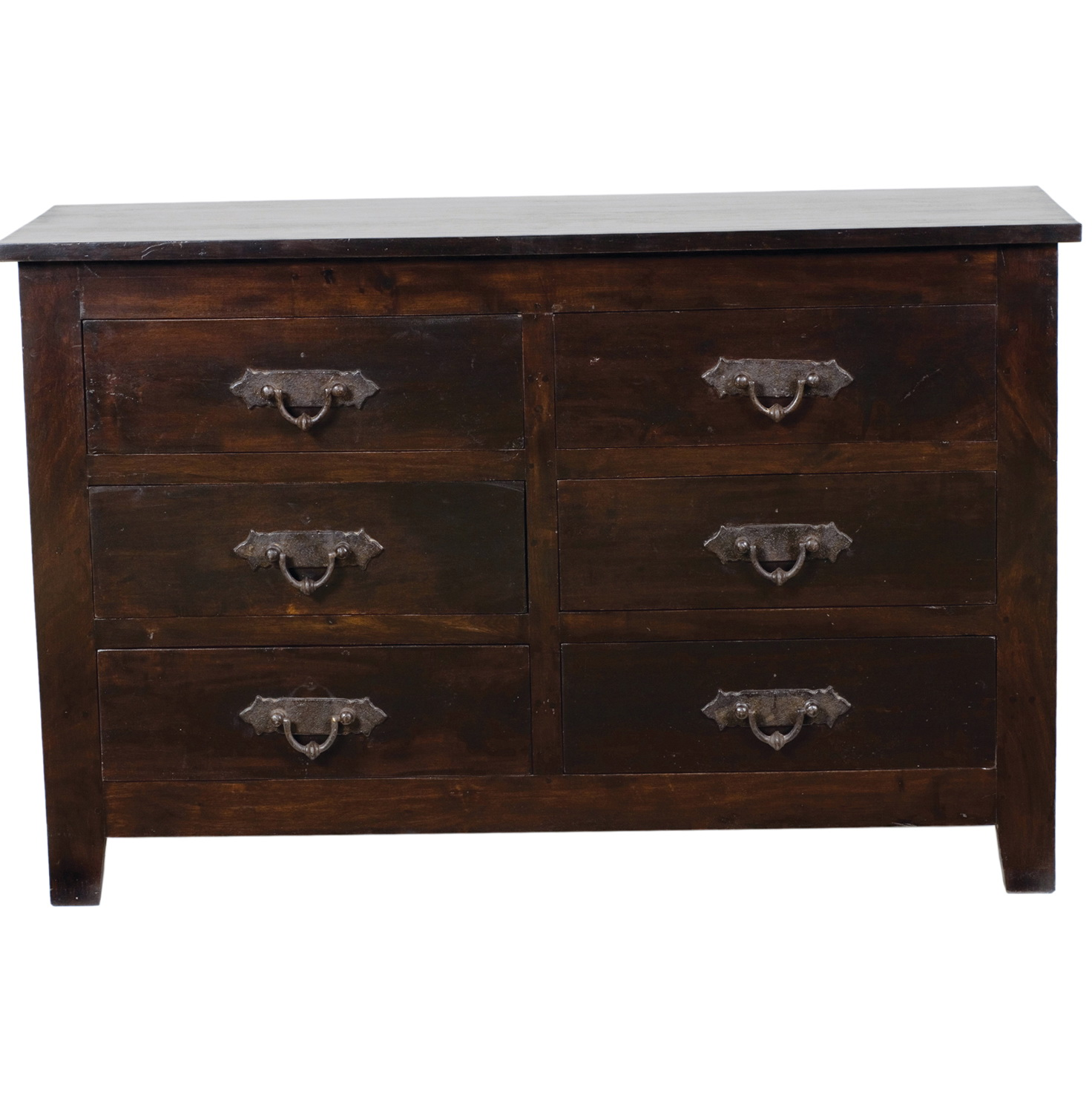 Solid Wood Dresser 6 Drawer