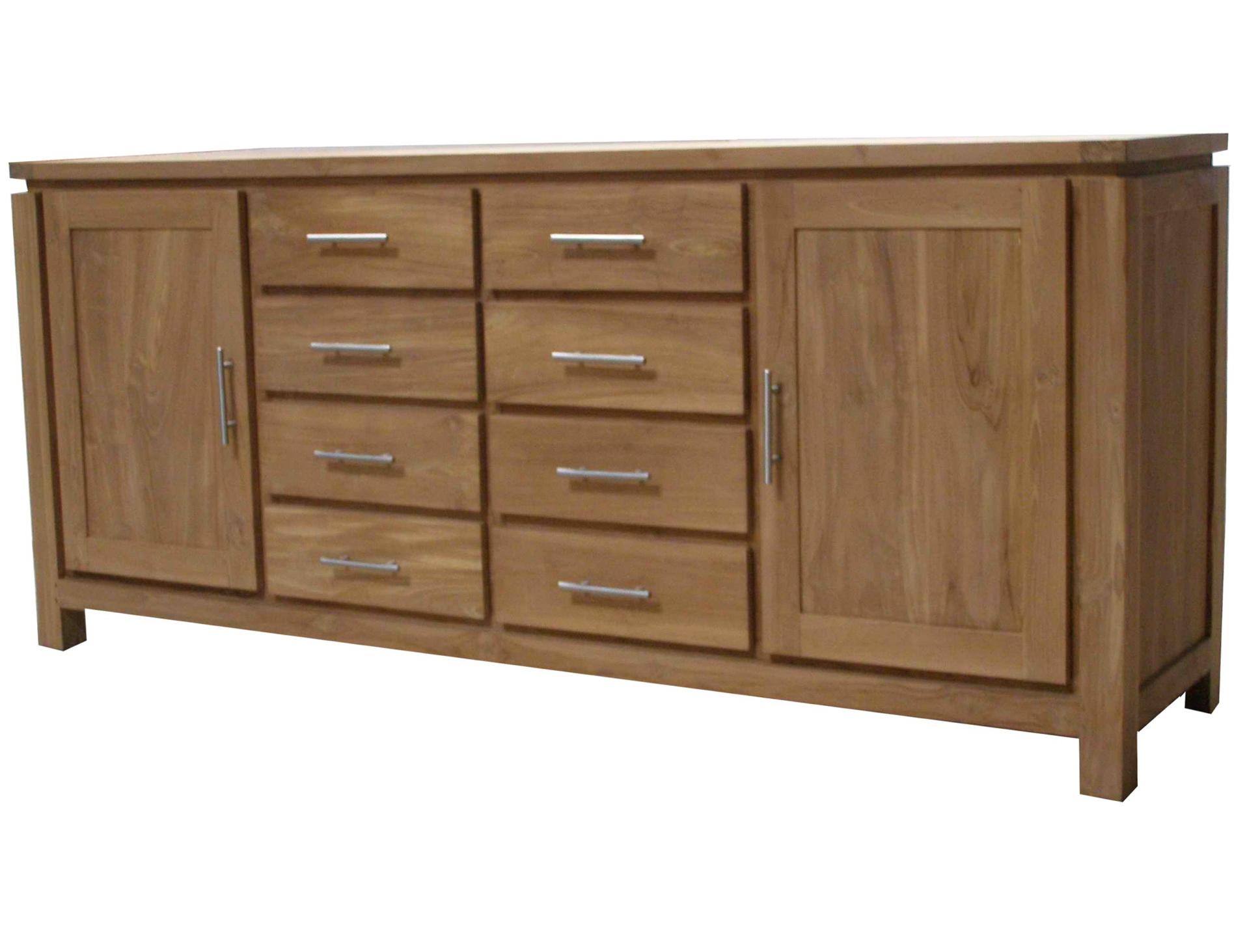 Solid Wood Dresser Used