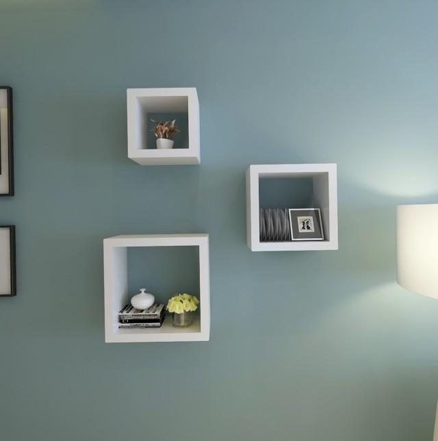 Square Wall Shelves Ikea