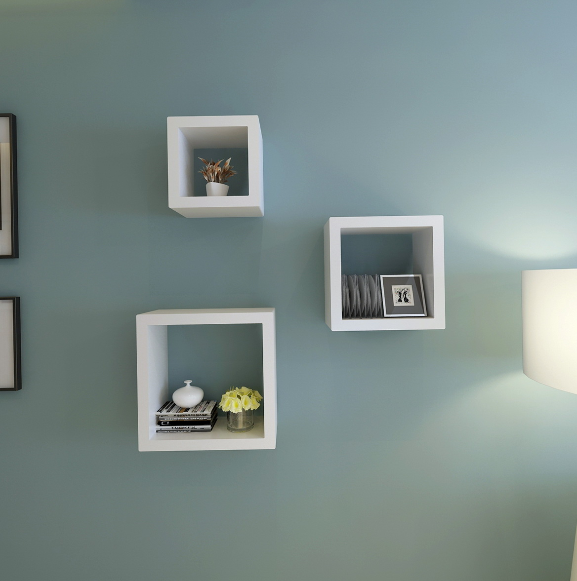 Square Wall Shelves Ikea