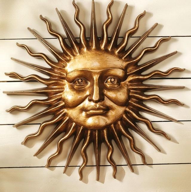 Sun Wall Art Decor