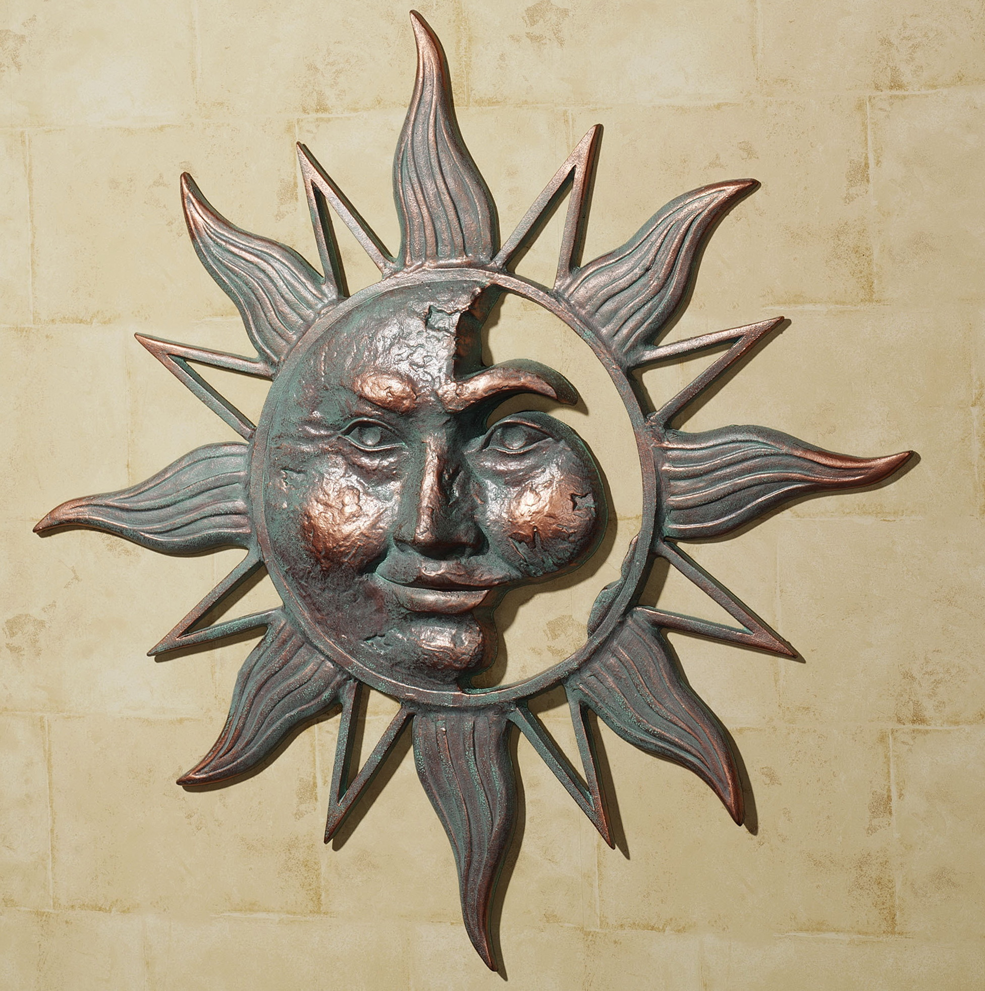 Sun Wall Art Metal