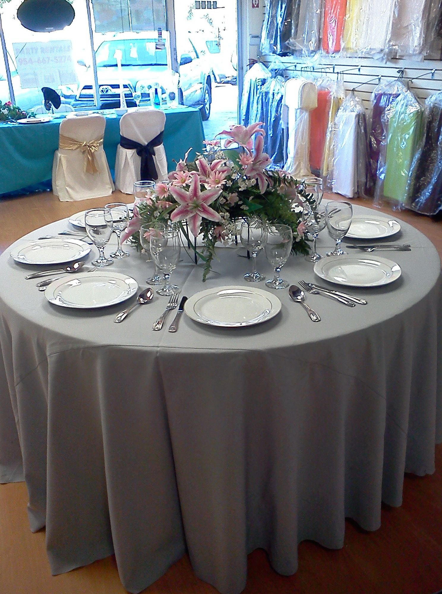 Table Linen Rentals Long Island