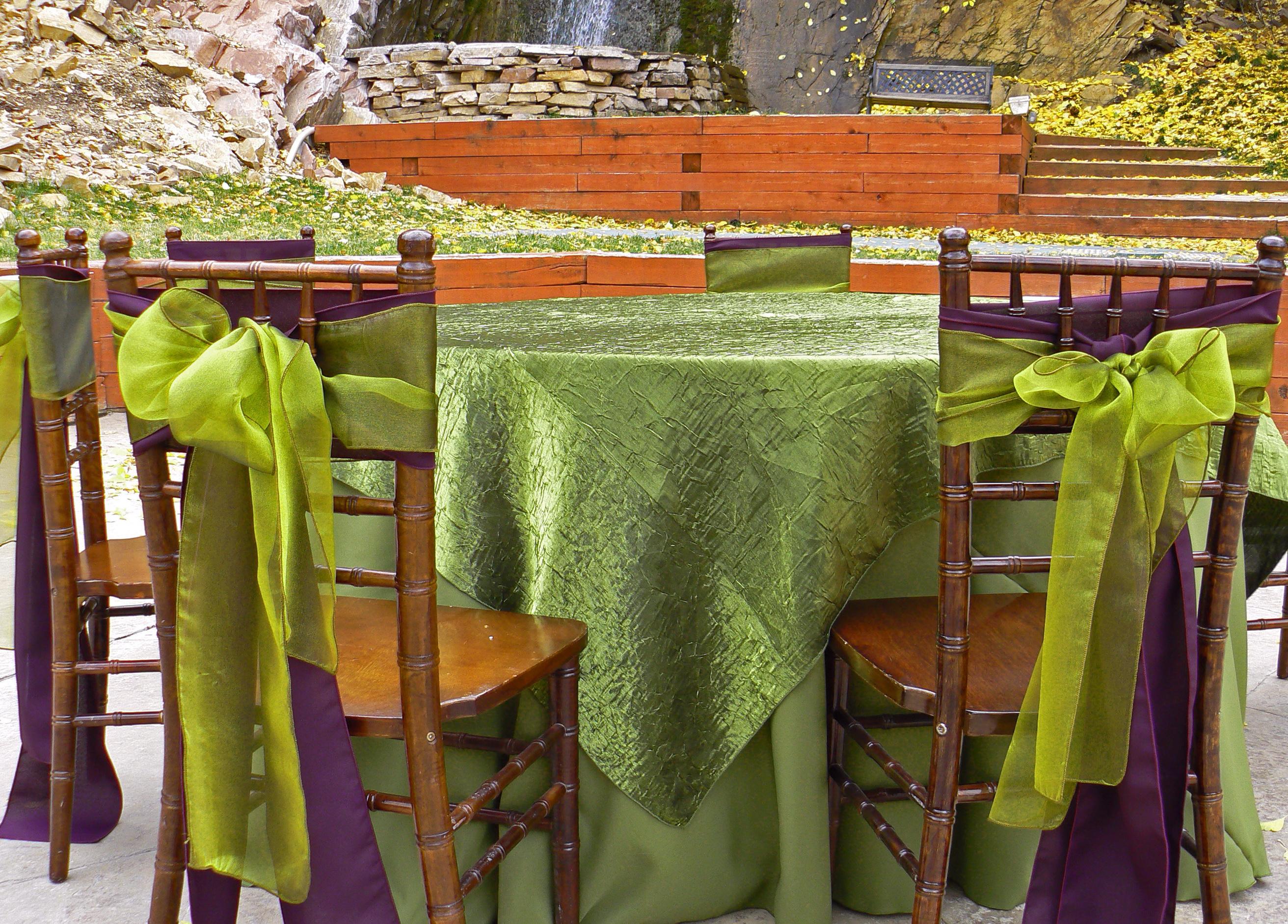 Table Linen Rentals Utah