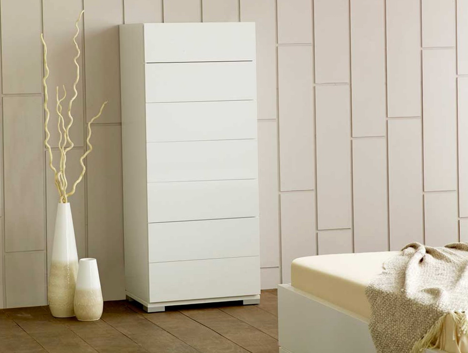 Tall Boy Dresser White