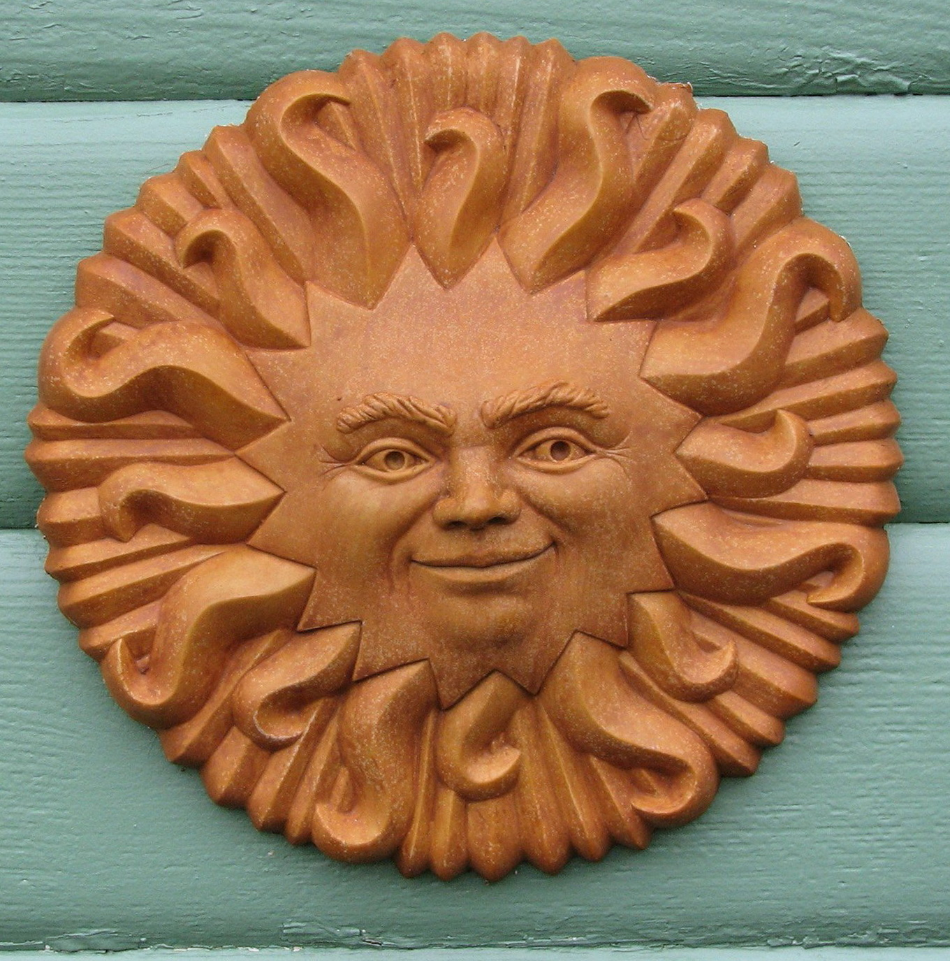 Terracotta Sun Wall Art