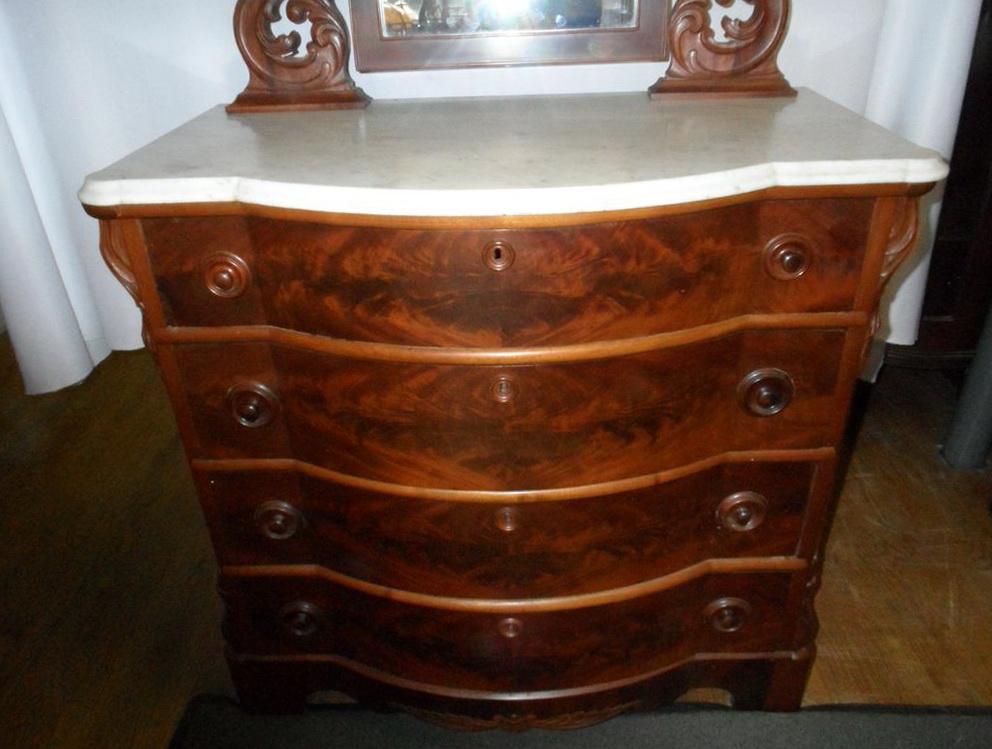 Victorian Marble Top Dresser