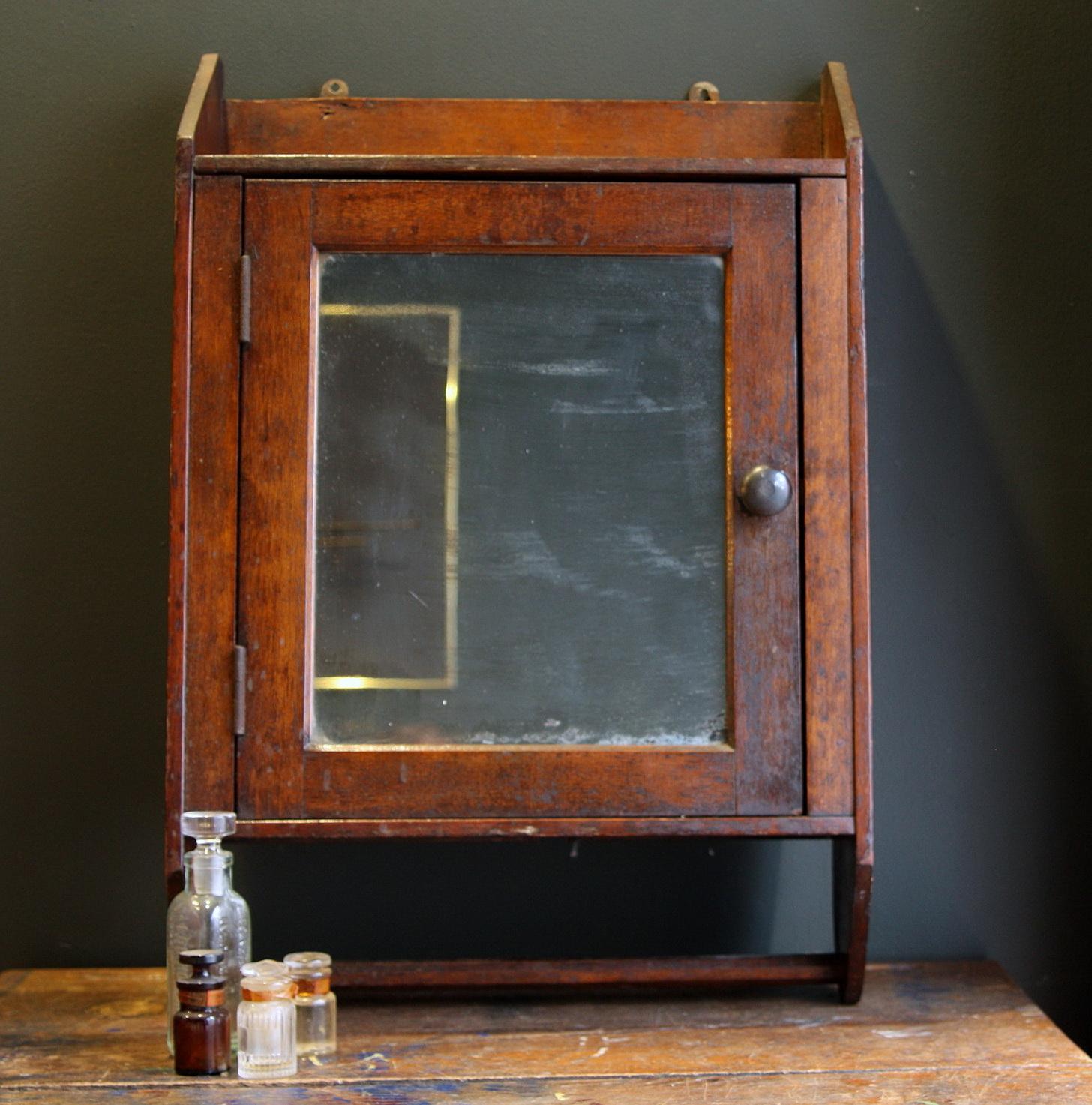 Vintage Medicine Cabinet Mirror