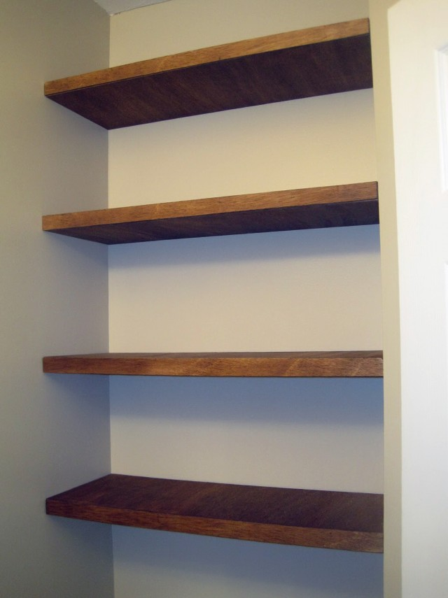 Wall Bookshelves Diy