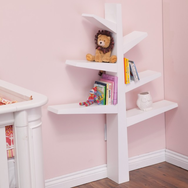 Wall Bookshelves Nursery