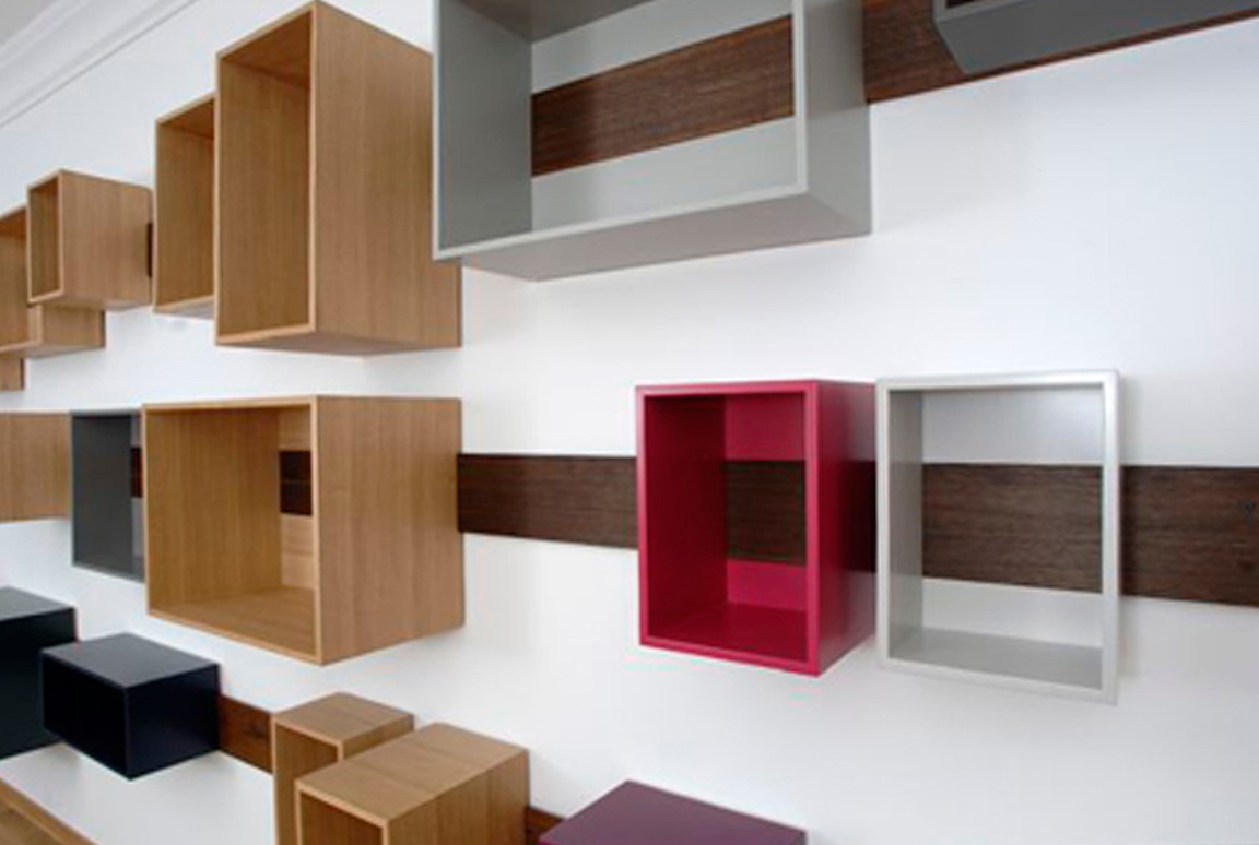 Wall Box Shelf Ideas