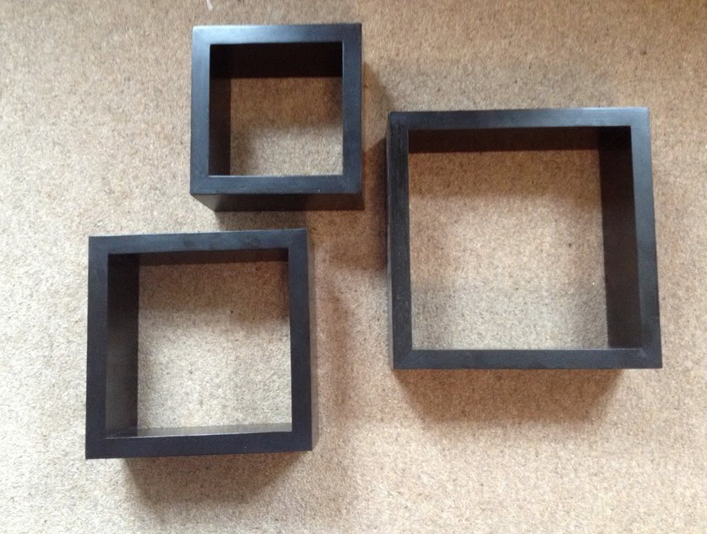 Wall Box Shelves