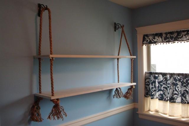 Wall Hanging Shelves Diy