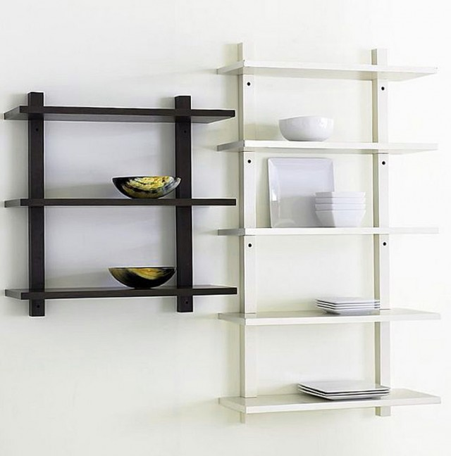 Wall Mounted Shelves For Kitchen