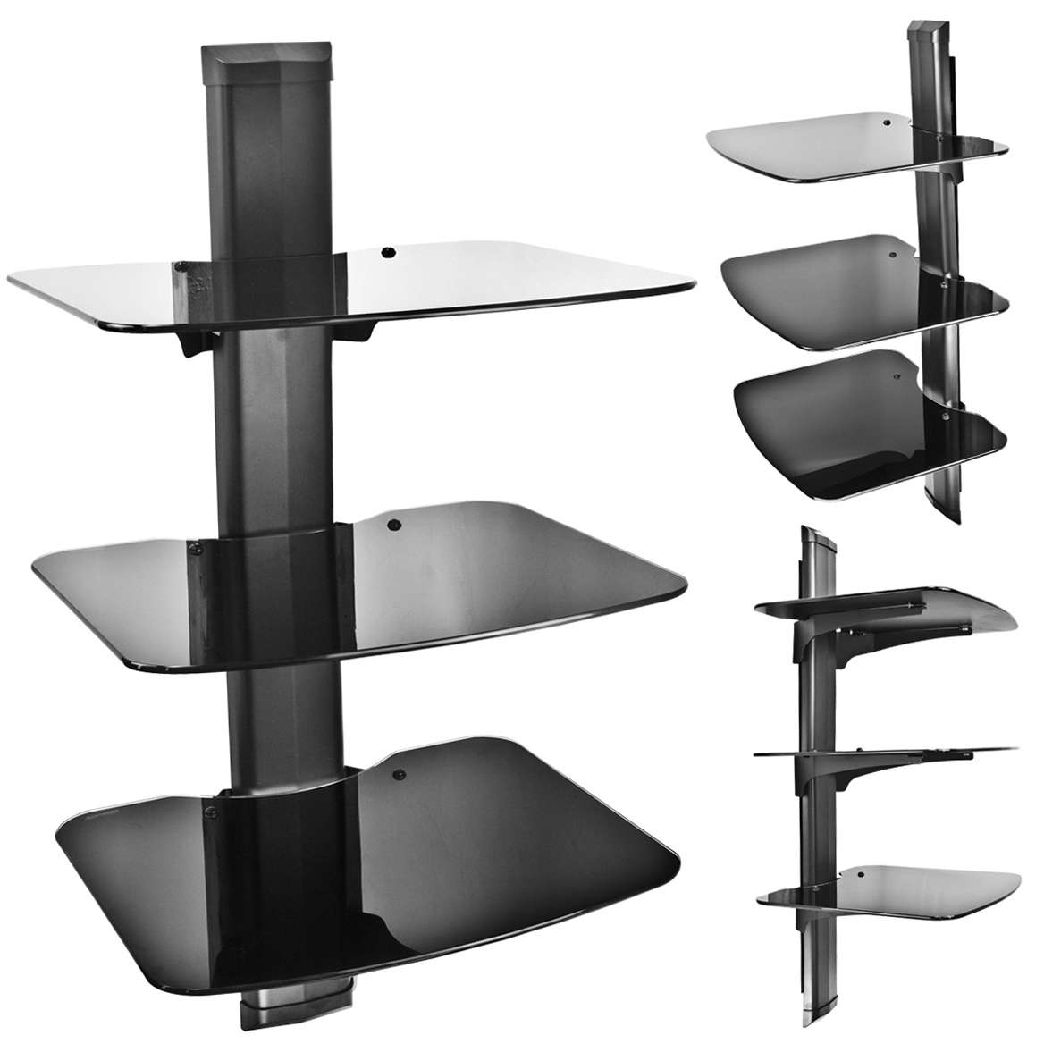 Wall Mounted Shelving For Tv Components