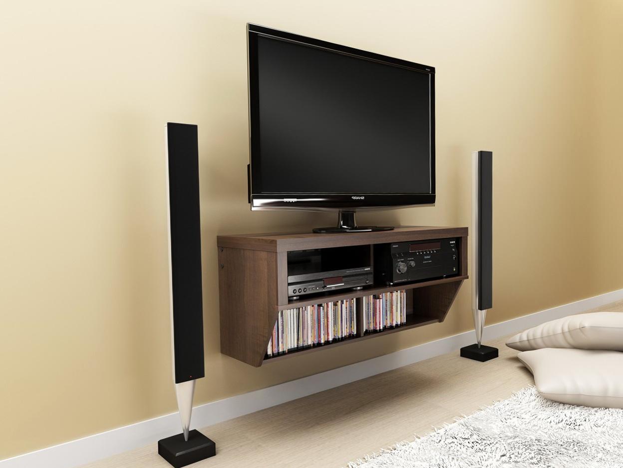 Wall Mounted Tv Shelves Ideas