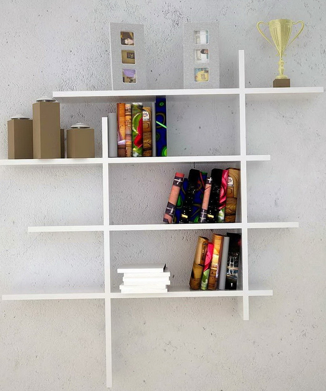 Wall Shelves For Books Ideas