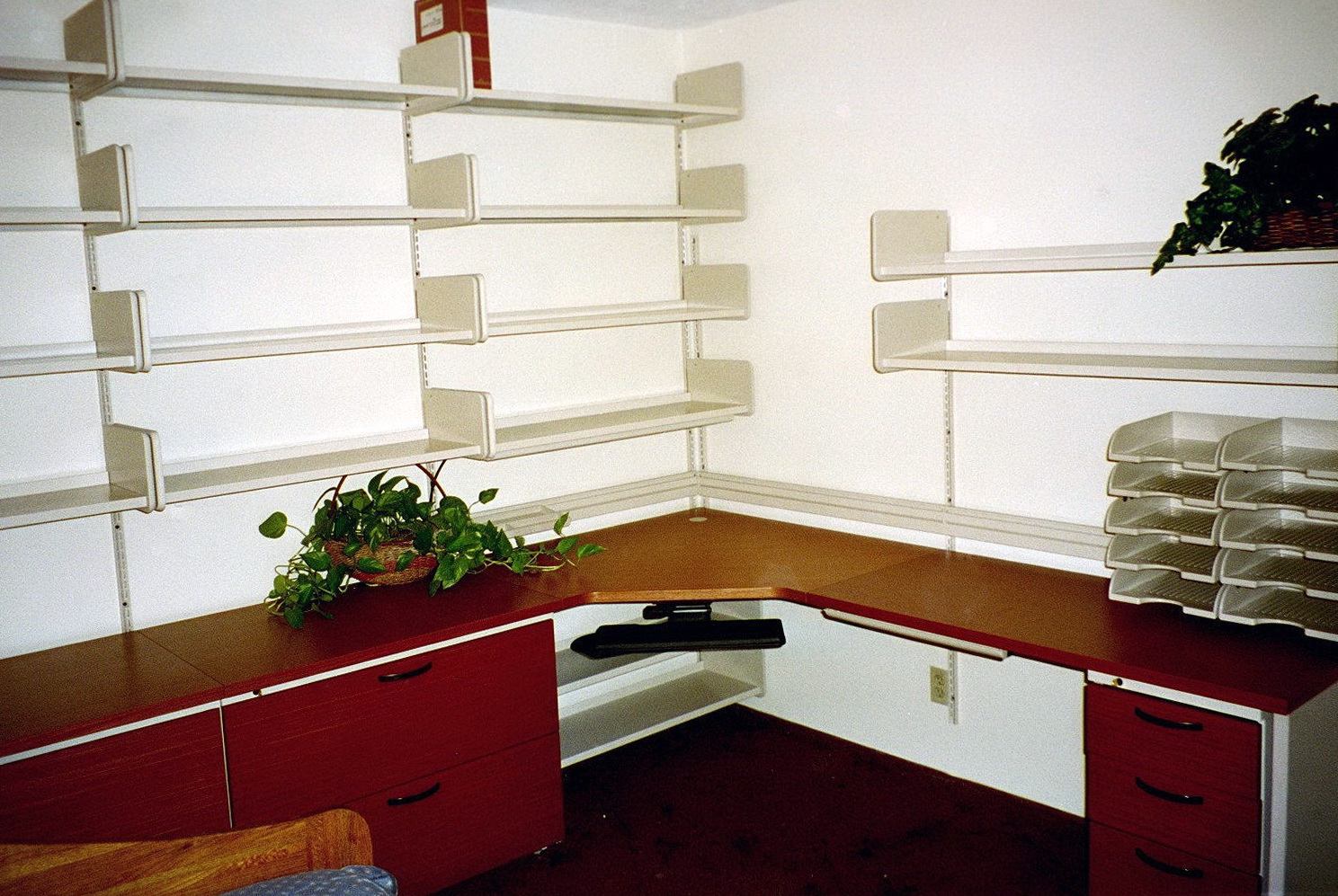 Wall Shelves Ideas For Office