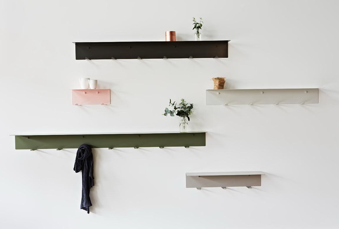 Wall Shelves With Hooks Walmart