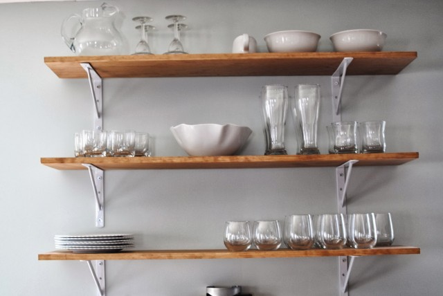 Wall Shelving Ideas For Kitchen