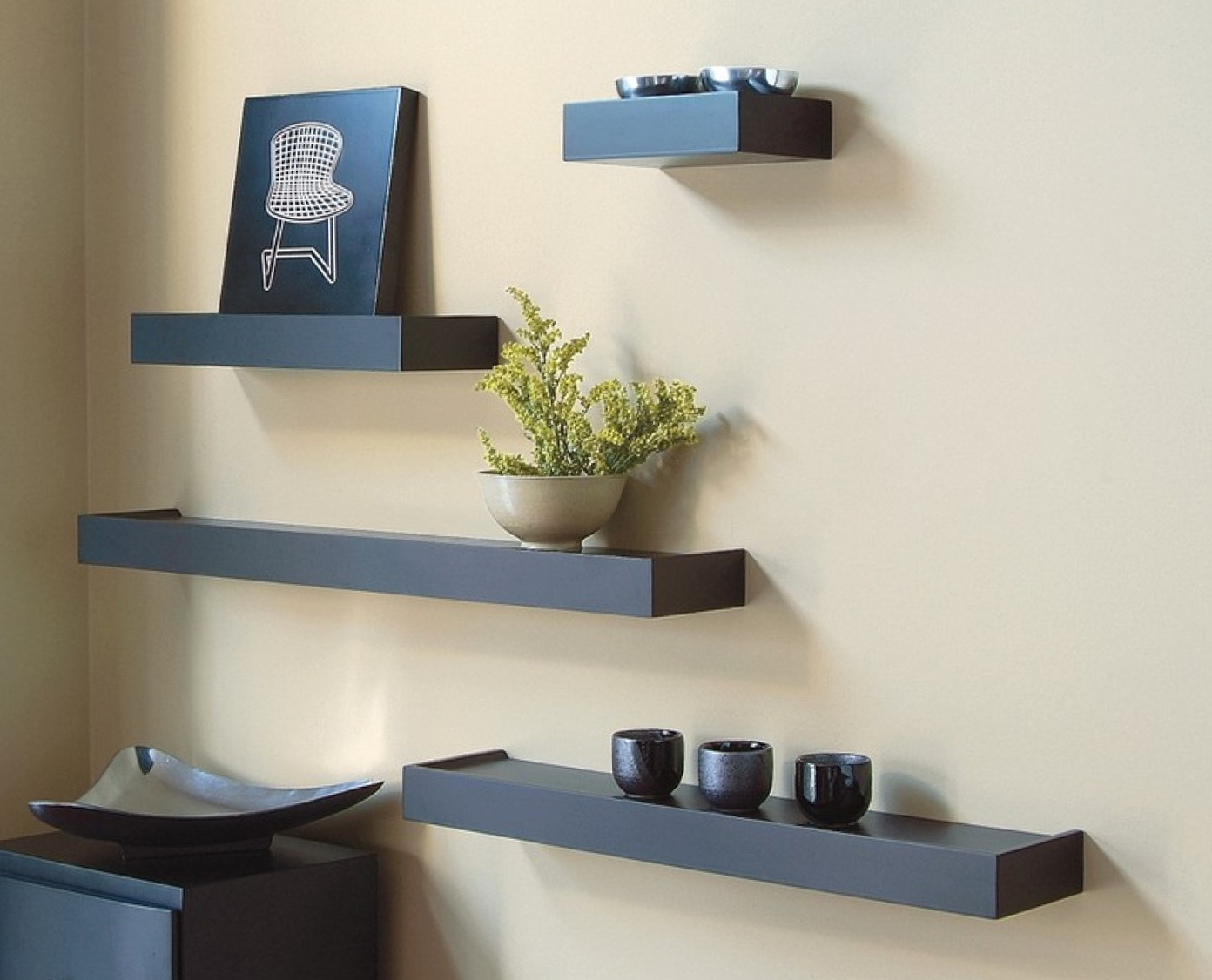 Wall Shelving Ideas For Living Room