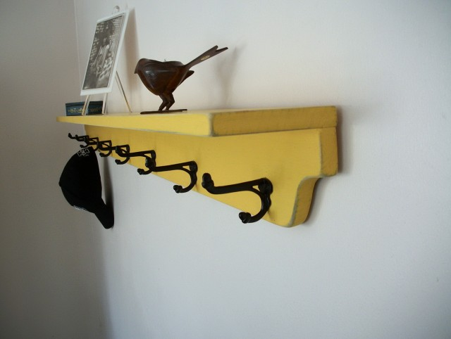Wall Storage Shelves With Hooks