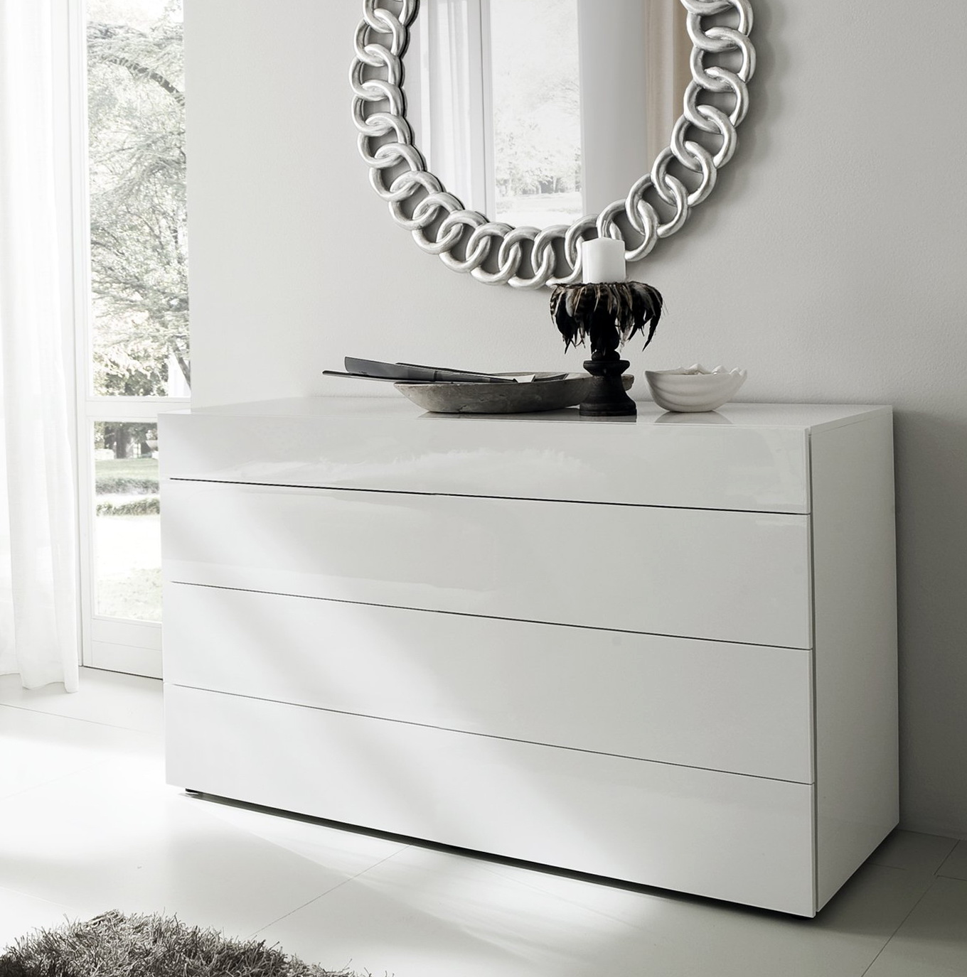 White Bedroom Dresser Furniture