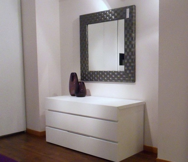 White Bedroom Dresser With Mirror