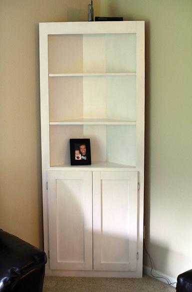Corner Bookcase With Doors Bookcase 15475 Home Design
