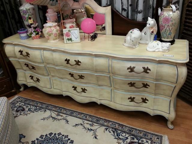 White Lacquer Dresser Cb2