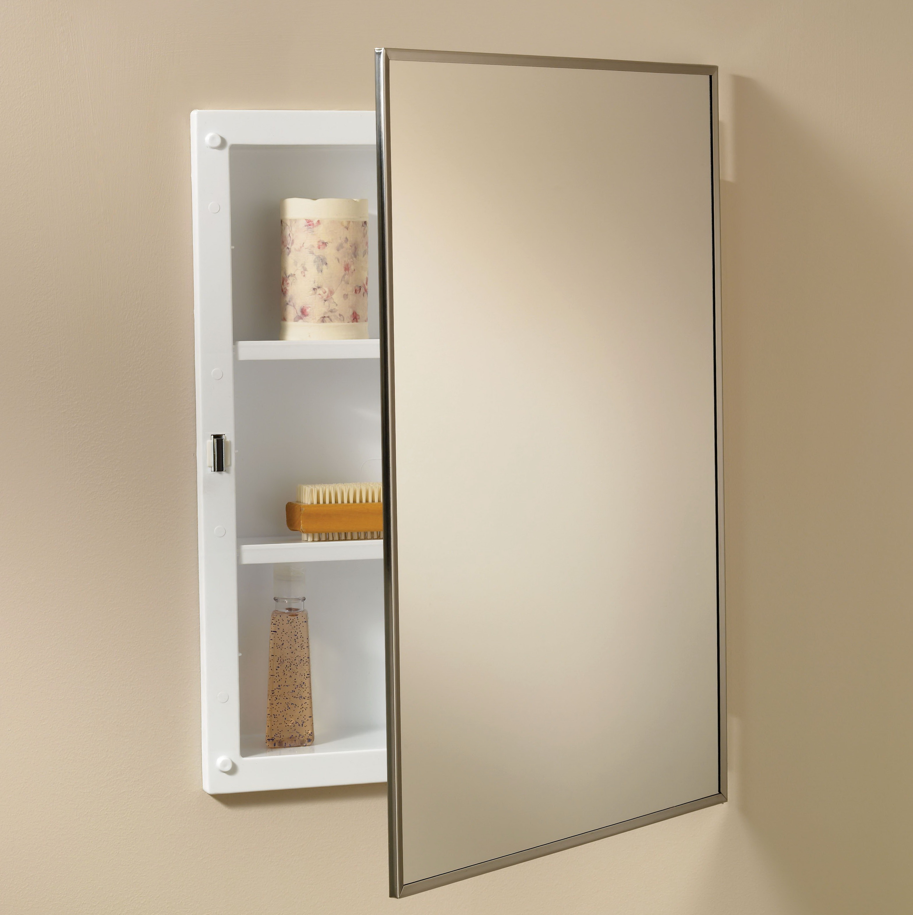 White Medicine Cabinet Without Mirror