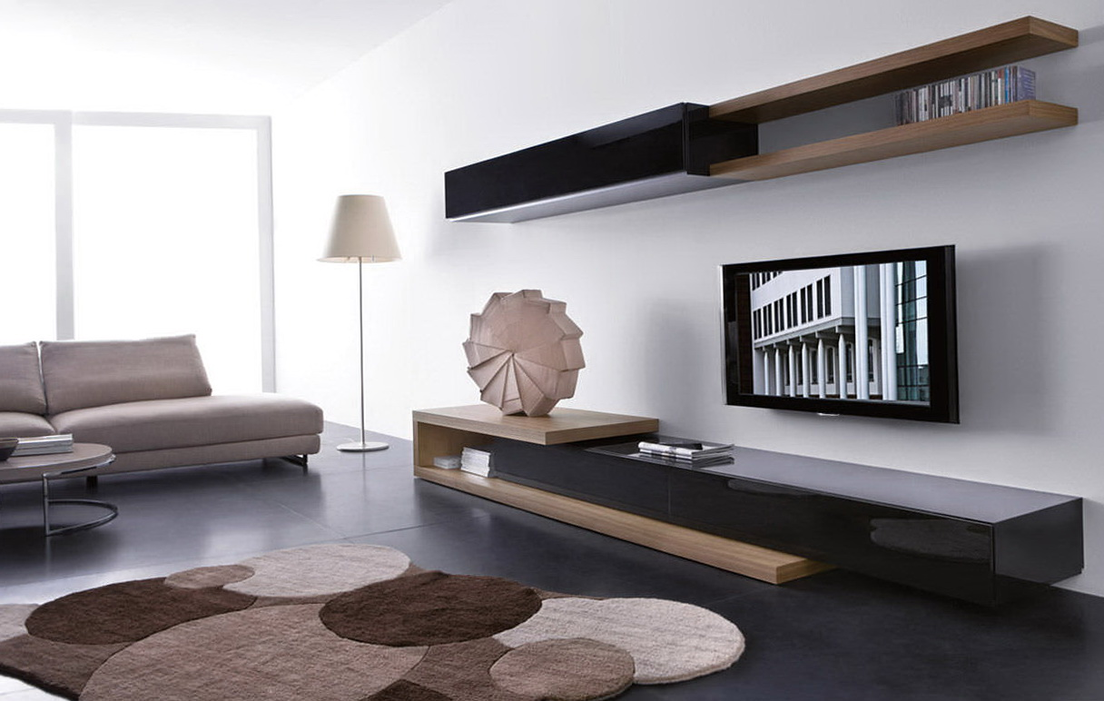 Wooden Wall Shelves For Tv