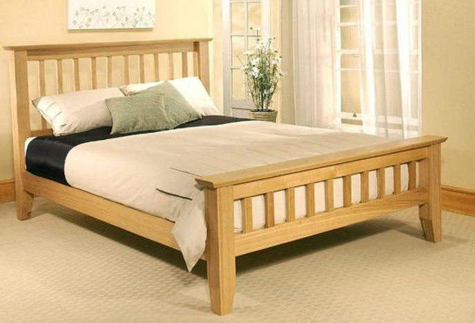 Full Size Bed Frame Wood
