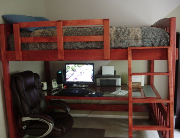 Full Size Loft Beds Plans