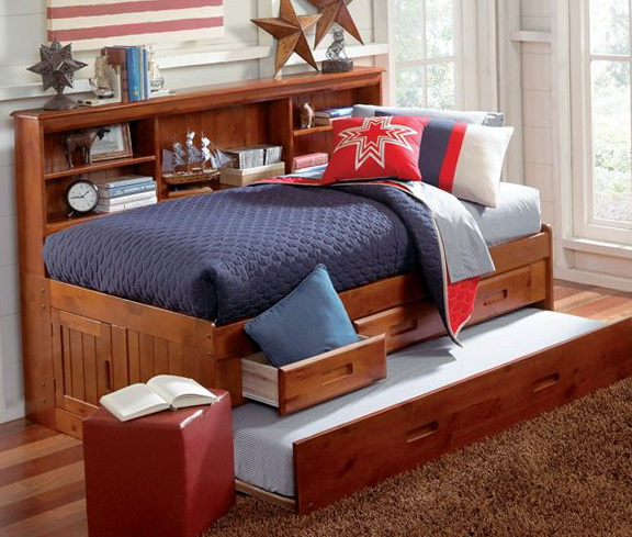 Full Size Trundle Bed Set