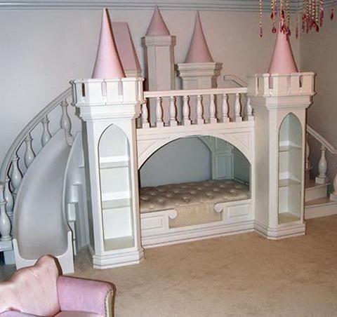 Girls Bunk Beds Castle