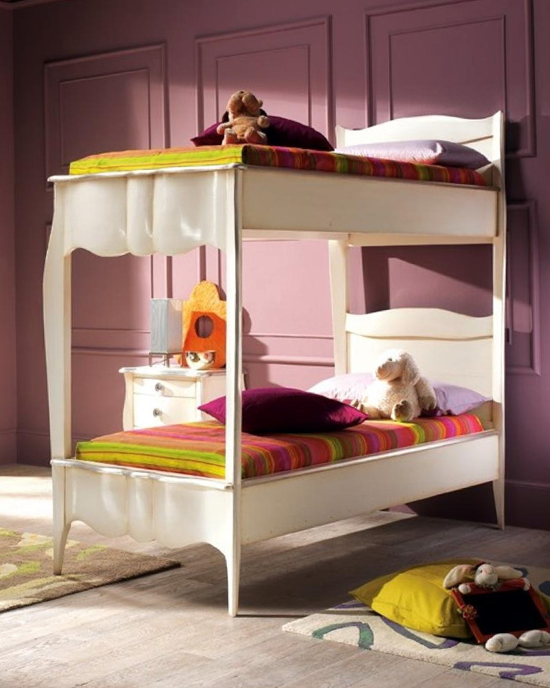 Girls Loft Bed Plans