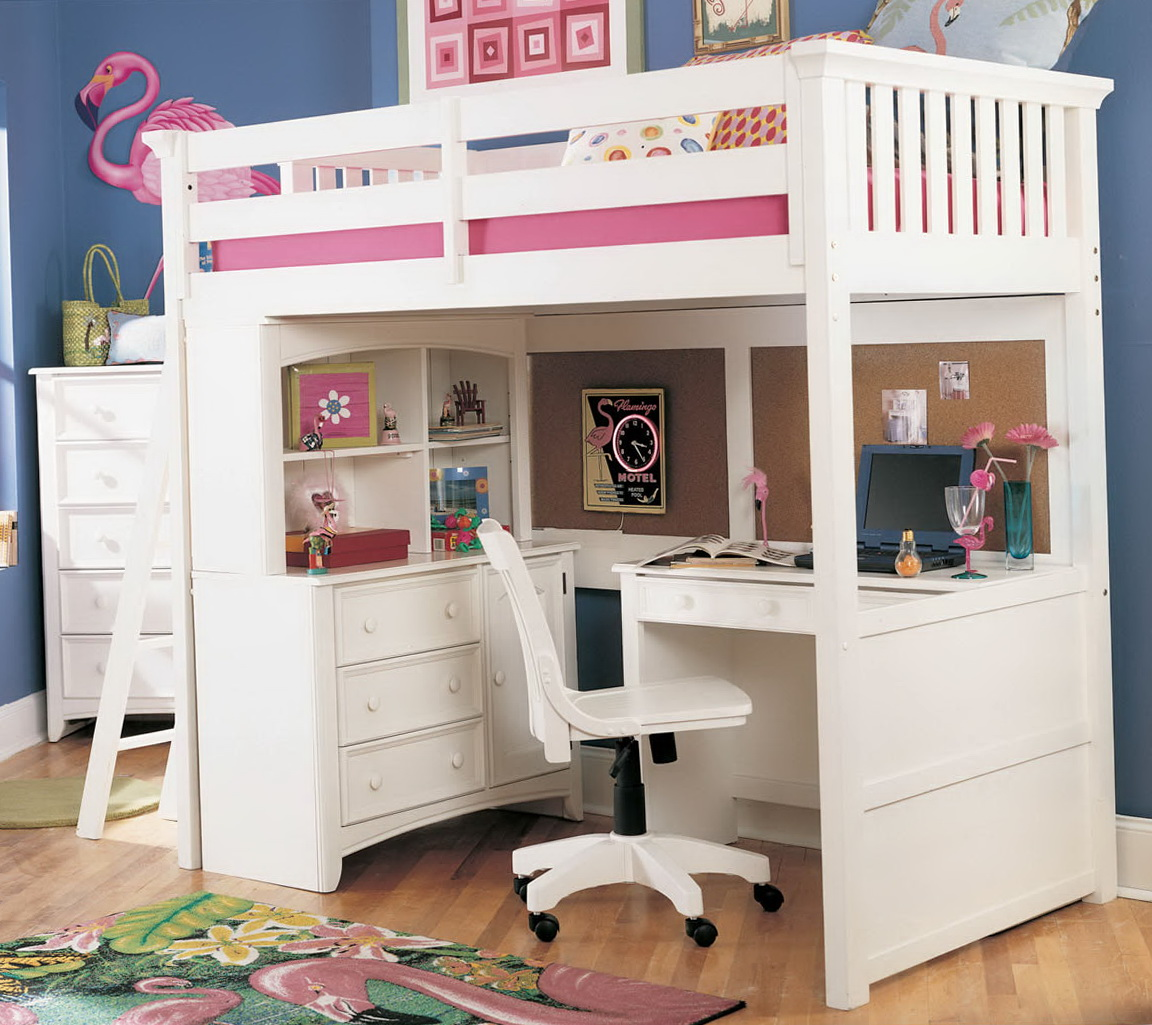 Girls Loft Beds With Desk