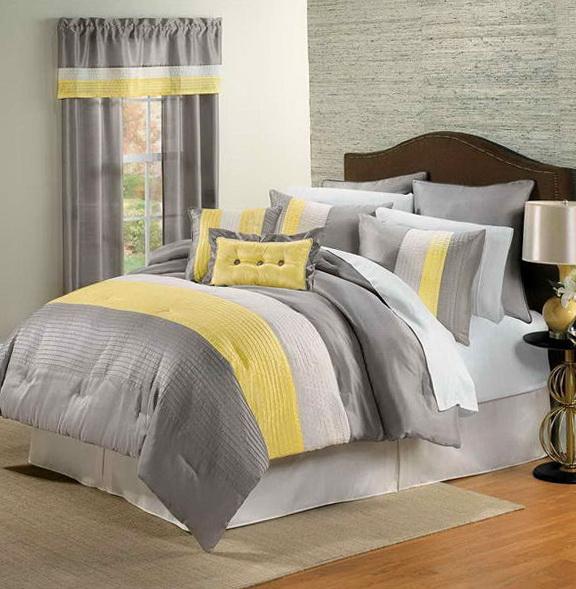 Gray And Yellow Bedding Kohl's