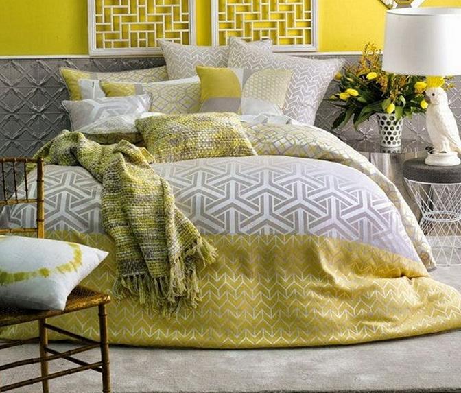 Grey And Yellow Bedding Uk