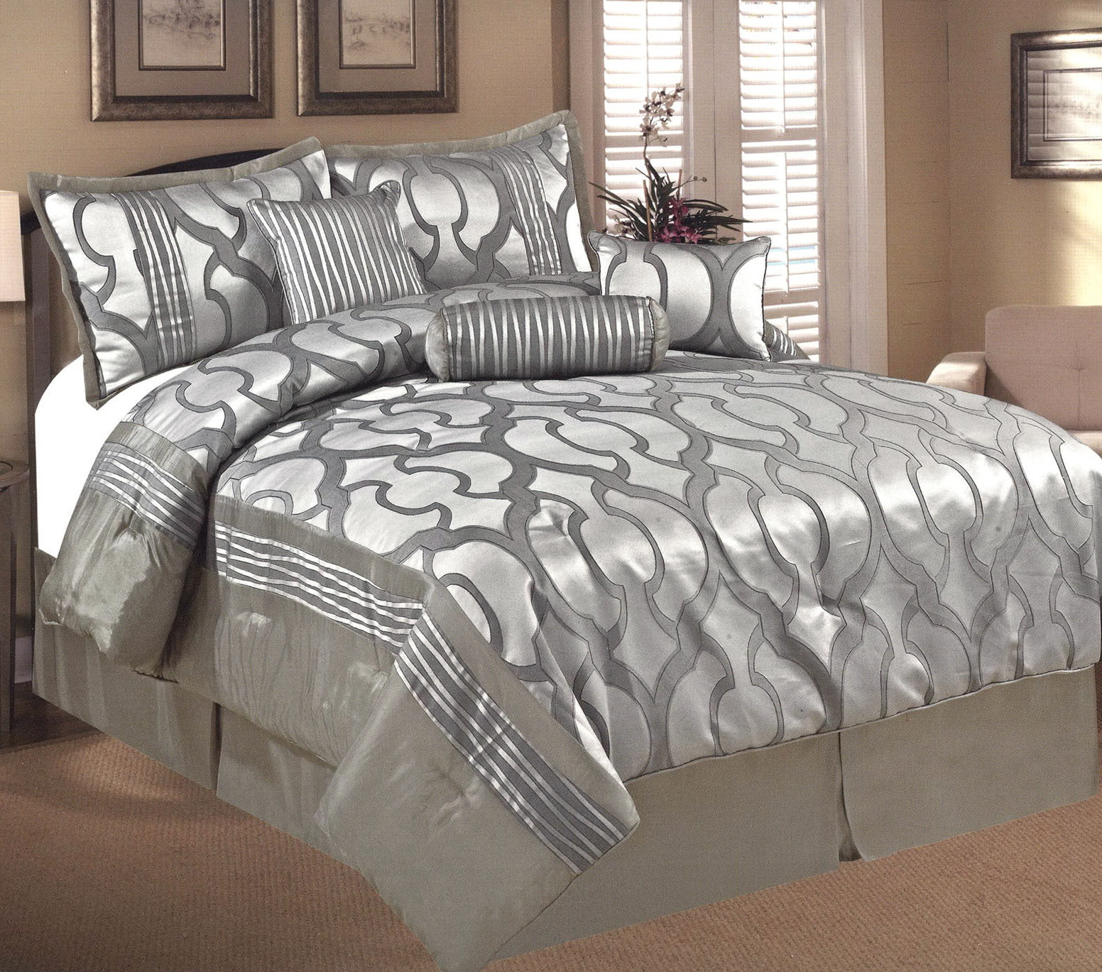 Grey Bedding Sets King