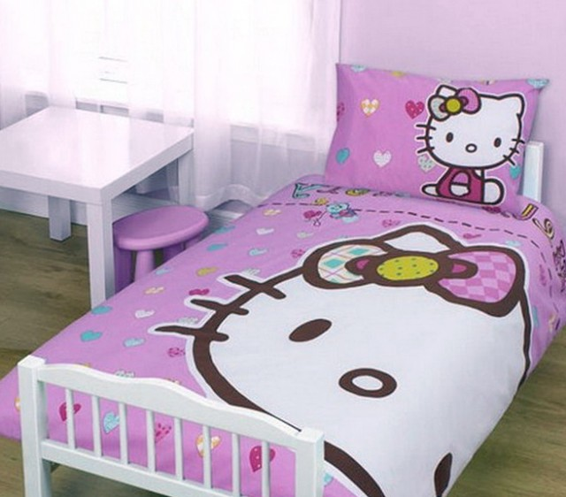 Hello Kitty Bed Set For Baby
